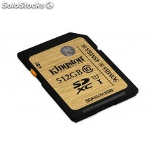 Kingston Technology - 512GB sdxc uhs-i Class 10 512GB sdxc uhs-i Clase 10