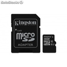 Kingston Technology - Canvas Select 16GB MicroSD UHS-I Clase 10 memoria flash -