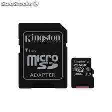 Kingston Technology - Canvas Select 256GB MicroSD UHS-I Clase 10 memoria flash -