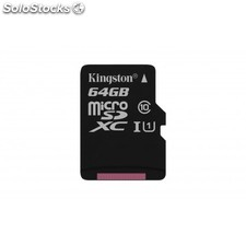 Kingston Technology - Canvas Select 64GB MicroSD UHS-I Clase 10 memoria flash -