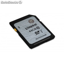 Kingston Technology - Class 10 uhs-i sdxc 64GB 64GB sdxc uhs Clase 10 memoria