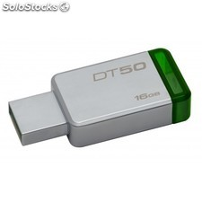 Kingston Technology - DataTraveler 50 16GB 16GB USB 3.0 (3.1 Gen 1) Tipo A
