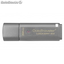 Kingston Technology - DataTraveler Locker+ G3 32GB 32GB USB 3.0 (3.1 Gen 1) Tipo