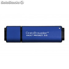 Kingston Technology - DataTraveler Vault Privacy 3.0 64GB 64GB USB 3.0 (3.1 Gen