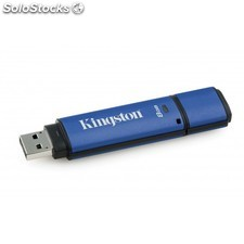 Kingston Technology - DataTraveler Vault Privacy 3.0 with Management 8GB 8GB USB