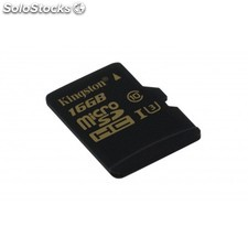 Kingston Technology - Gold microSD uhs-i Speed Class 3 (U3) 16GB 16GB MicroSDHC