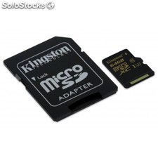 Kingston Technology - Gold microSD uhs-i Speed Class 3 (U3) 64GB 64GB MicroSDHC