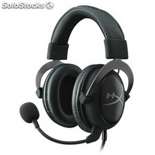 Kingston Technology - hyperx cloud ii pro gaming accs headset gun metal in