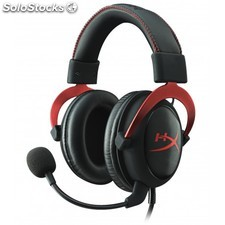 Kingston Technology - hyperx cloud ii pro gaming accs headset red in