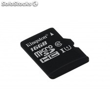 Kingston Technology - microSDHC Class 10 uhs-i Card 16GB 16GB MicroSDHC uhs-i