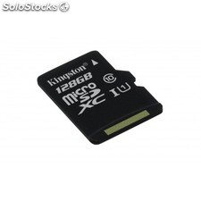 Kingston Technology - microSDXC Class 10 uhs-i Card 128GB 128GB MicroSDXC uhs-i
