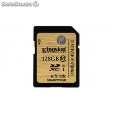 Kingston Technology - sdhc/sdxc Class 10 uhs-i 128GB 128GB sdxc uhs Clase 10