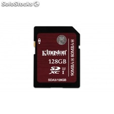 Kingston Technology - sdxc uhs-i U3 (SDA3) 128GB 128GB sdxc uhs Clase 3 memoria