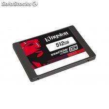 "Kingston Technology - SSDNow KC400 512GB + Upgrade Kit 512GB 2.5"""" Serial ata"