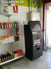 Kiosco multiservicio EnjoyPoint Print: aumente beneficios