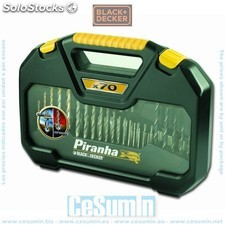 Kit 70 piezas HI TECH taladrar + atornillar - Black and Decker - Ref: