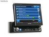 Kit alpine IVAD511R-RB, rossa/blu-verde/ambra, MP3, dvd, DvIX, interfaccia iPOD + vivavoce bluetooth + NVEM300P, navigatore con cartografia europea