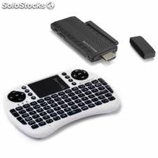 Kit android tv dual core phoenix /android 4.2.2+ mini teclado inalambrico