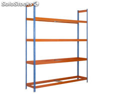 kit autoforte 2404-4 azul/naranja, mm, simonrack