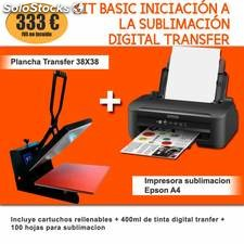 Kit basic iniciación a la sublimación digital transfer