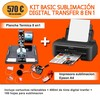 Kit basic sublimación digital transfer 8 en 1