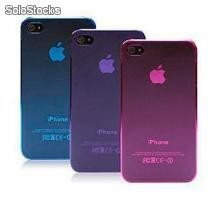 Kit c/5 Case Ultra Slim Transparente Para Iphone 4-4s