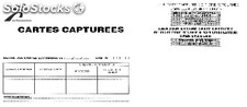 Kit cartes capturees banque