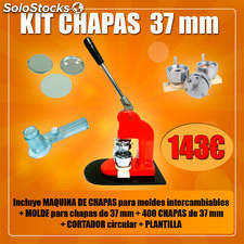 Kit chapas 37MM