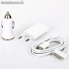 Kit chargeur 3 in 1 iphone 5 / 4 en gros