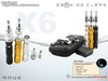 Kit cigarrillo electronico eCig x6
