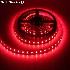 Kit completo de Tira led (5m) Luz rojo 60Leds/m 24w IP65