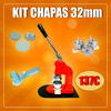 Kit crachá 32mm