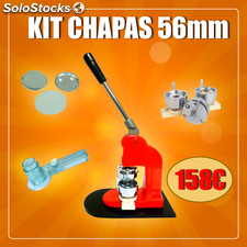 Kit crachá 56MM