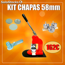 Kit crachá 58MM