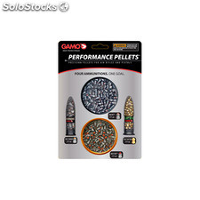 Kit de Balines Performance (Red Fire/PBA Raptor/Rocket/PBA Armor) Cal 4.5 Gamo