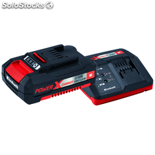 Kit de batería y cargador Einhell Power X-Change, 18 V