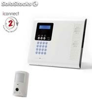 Kit de Central de Alarma Iconnect / Secusafe con Videoverificación