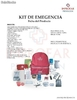 Kit de emergencia 4 personas