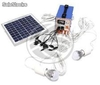 Kit de energía solar 4 Ah 24W (SO02)