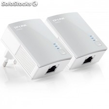 Kit de inicio con adaptadores nano plc/powerline tp-link tl-PA4010KIT AV500
