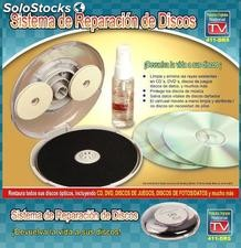 Kit De Limpieza / Reparador CD/dvd Manual / Disco Reparador CD