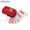 Kit de primeros auxilios Guardian Carry con tiritas, vendas, gasas,