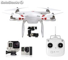 Kit dji Phantom 2 + Gimbal H4-3D + Cámara GoPro Hero4 Black