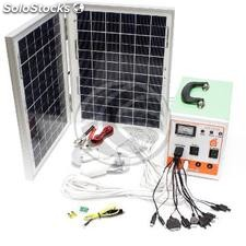 Kit Energia Solar 12 Ah 150W (SO03)