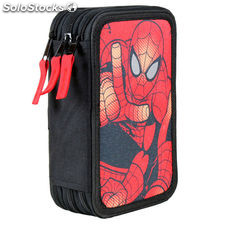 Kit Escolar SPIDERMAN MARVEL School Supply caso caja de lápices lápiz 43 piezas