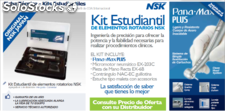 Kit estudiantil micromotor nsk turbina panamax plus