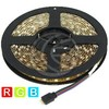 Kit flessibile striscia di led 6.5 lm/led 60 led/m IP65 5m rgb (LU11)