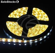 Kit Flexible led strip 13 lm/led 60 led/m IP65 5m white (LU03)