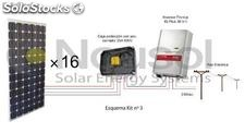 Kit fotovoltaico a red nº3