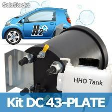 Kit hho completo 43 piastre for engine >3400 a 4400cc